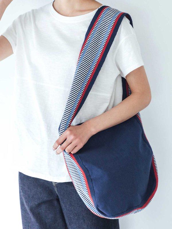 ショルダーバッグ 手織りバックストラップのベルト(フェアトレード )