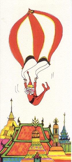 ナンシーチャンドラー グリーティングカード ワイドサイズ チョーファー