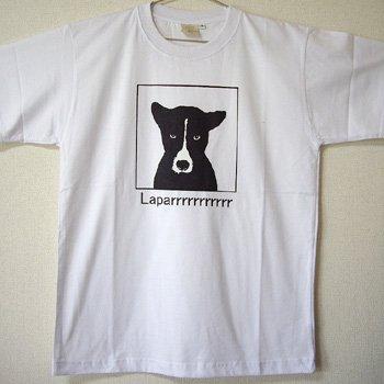 バリ島Tシャツ メンズ ラパール ホワイト