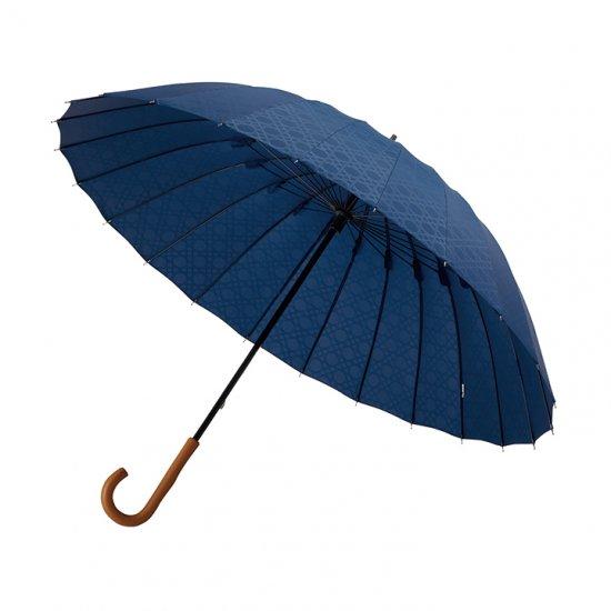 ユニセックス長傘 mabu 24本骨 丈夫な傘 超撥水 超軽量 江戸 マブ