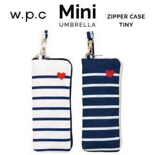 【wpc】折りたたみ傘 heart & border mini w.p.c ワールドパーティー