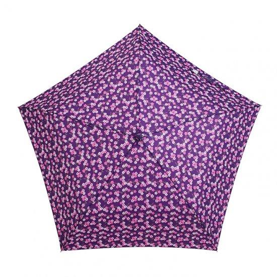 【waterfront】折りたたみ傘 ステンレス骨の丈夫な傘 晴雨兼用傘 軽量173g 5スタースリムUV三つ折 和柄 ウォーターフロント シューズセレクション
