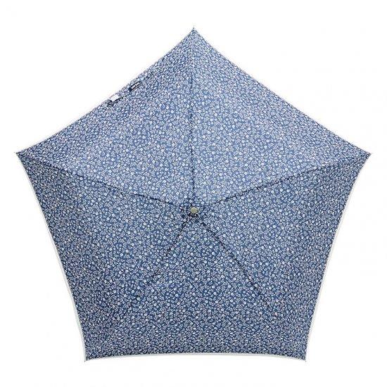 【waterfront】折りたたみ傘 晴雨兼用傘 軽量165g 5スタープレミアム モノトーンフラワー ウォーターフロント シューズセレクション