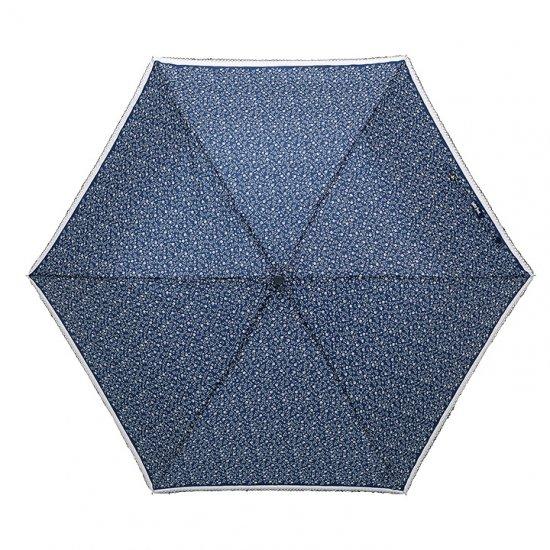 【waterfront】折りたたみ傘 晴雨兼用レディース傘 モノトーンフラワー三折 ウォーターフロント シューズセレクション