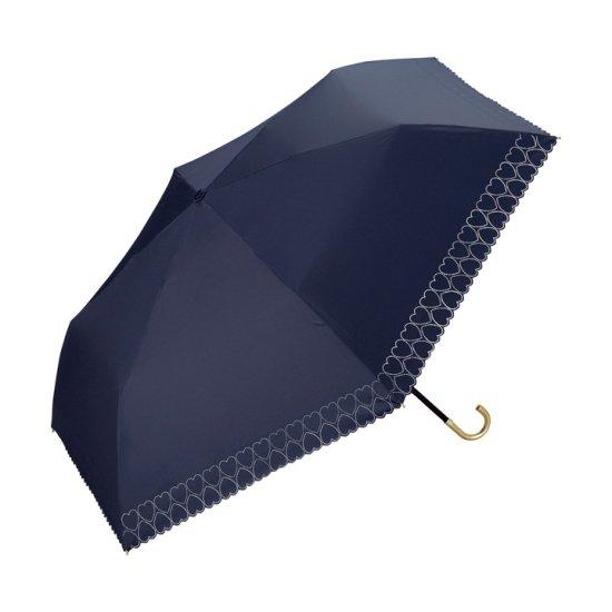 【wpc】【日傘】【遮光遮熱傘】折りたたみ傘 晴雨兼用傘 HEART HEAT CUT mini w.p.c ワールドパーティー