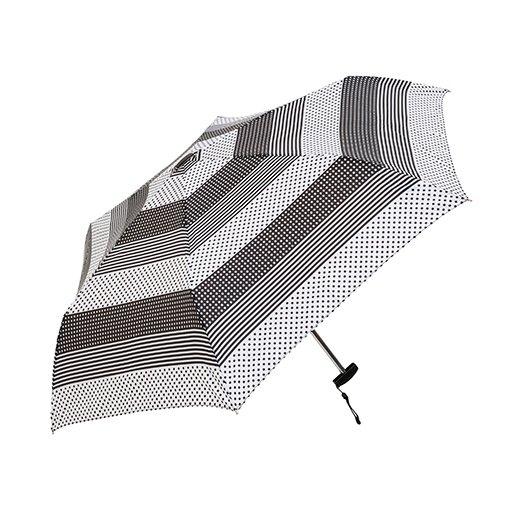 【waterfront】折りたたみ傘 軽量165g傘 薄型50cm ポケフラット マルチパターン ウォーターフロント シューズセレクション