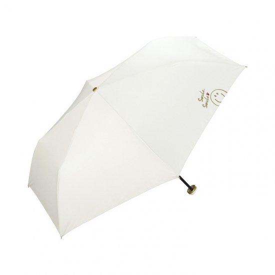 【wpc】【日傘】【遮光遮熱傘】折りたたみ傘 晴雨兼用傘 SMILEY DRAWING mini w.p.c ワールドパーティー