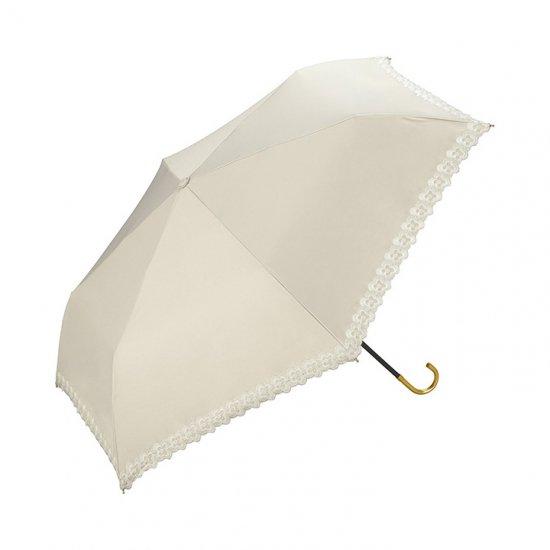 【wpc】【日傘】【遮光遮熱傘】折りたたみ傘 晴雨兼用傘 FLOWER SCALLOP mini w.p.c ワールドパーティー
