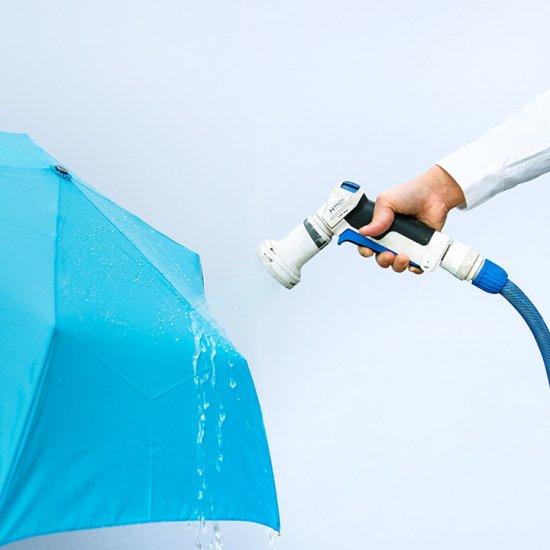 【waterfront】【晴雨兼用傘】折りたたみ傘 UVカット95% ウォーターバリア超撥水 耐風傘 ウォーターフロント シューズセレクション