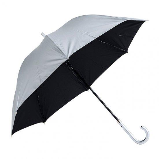 【waterfront】日傘 遮光遮熱傘 男女兼用傘 大きい60cm 銀行員の日傘 ウォーターフロント シューズセレクション