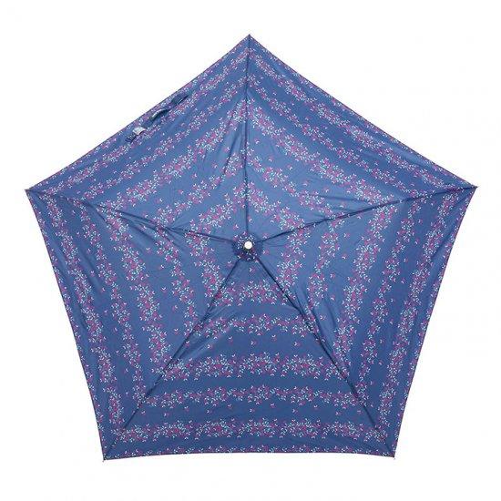 【waterfront】【晴雨兼用傘】折りたたみ傘 ステンレス骨の丈夫な傘 軽量 5スター UVフラワー ウォーターフロント シューズセレクション