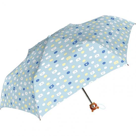 折りたたみ傘 子供用記念品 女の子 軽量 かわいい子供用 くま ドット柄 シェイルシェイル