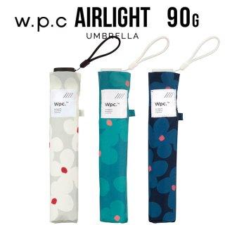 Wpc 折りたたみ傘 超軽量90g傘 Air-light Umbrella クッカ w.p.c ワールドパーティー