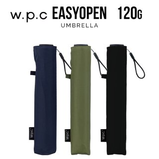 Wpc 折りたたみ傘 ポキポキしない 軽量120g傘 Air-light Easy Open 無地 w.p.c ワールドパーティー