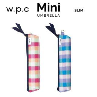 Wpc 折りたたみ傘 キャンディチェック mini w.p.c ワールドパーティー
