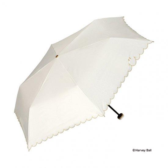 Wpc 日傘 遮光遮熱傘 折りたたみ傘 晴雨兼用傘 遮光スマイリースカラップ  mini w.p.c ワールドパーティー