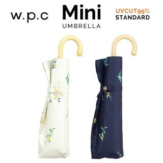 Wpc 日傘 遮光遮熱傘 折りたたみ傘 晴雨兼用傘 遮光野の花  mini w.p.c ワールドパーティー