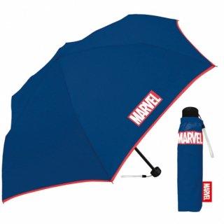 折りたたみ傘 かわいい子供用 定価1650円の特価販売 在庫限り 男の子 軽量 マーベル ネイビー 子供用記念品 クラックス