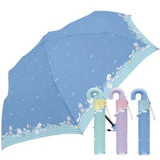折りたたみ傘 かわいい子供用 女の子 軽量 ドレッシーリボン 子供用記念品 クラックス