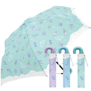 折りたたみ傘 かわいい子供用 女の子 軽量 マリンバブル 子供用記念品 クラックス