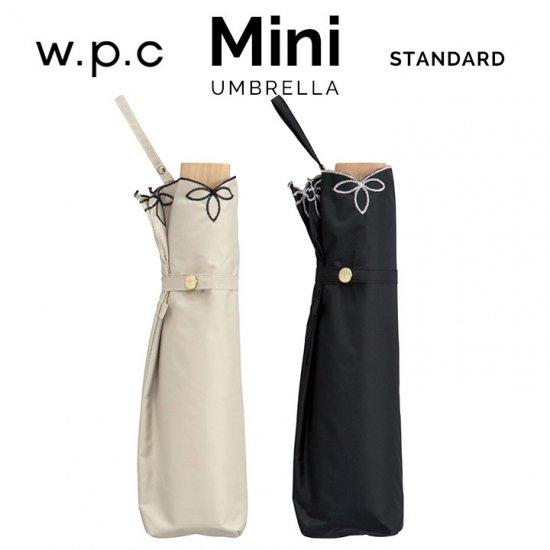 Wpc 日傘 遮光遮熱傘 折りたたみ傘 晴雨兼用傘 遮光バードケージワイドスカラップ mini w.p.c ワールドパーティー