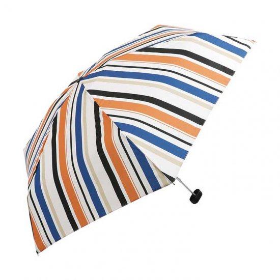 Wpc 折りたたみ傘 マルチストライプ mini w.p.c ワールドパーティー
