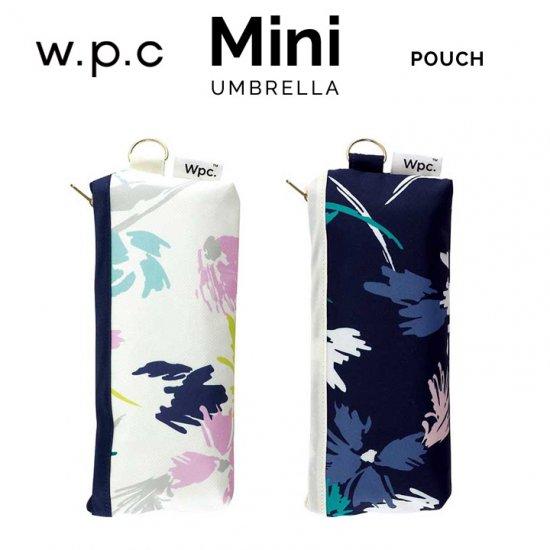 Wpc 折りたたみ傘 スケッチフラワー mini w.p.c ワールドパーティー