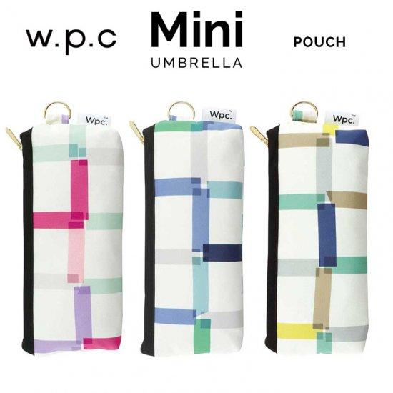 Wpc 折りたたみ傘 クリアチェック mini w.p.c ワールドパーティー