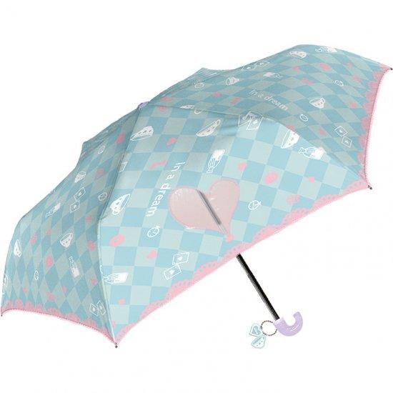 折りたたみ傘 子供用記念品 女の子 軽量 かわいい子供用 アリス 50cm シェイルシェイル