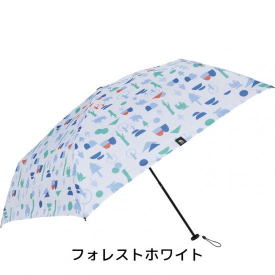 【mabu】 UVカット90% レディース折りたたみ傘 moz x mabu  耐風骨 UVカットミニ フラワー 晴雨兼用傘 マブ