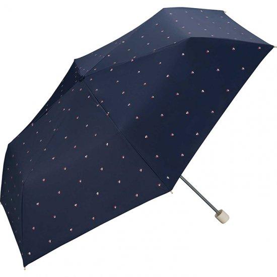 Wpc 日傘 遮光遮熱傘 折りたたみ傘 晴雨兼用傘 ブロックハート mini w.p.c ワールドパーティー