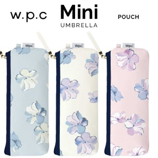 Wpc 折りたたみ傘 クリーミーフラワー mini w.p.c ワールドパーティー