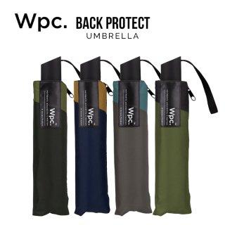 Wpc 折りたたみ傘 軽量傘 バックプロテクト w.p.c ワールドパーティー
