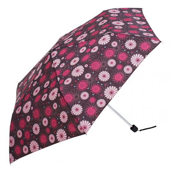 ウォーターフロント Waterfront 折りたたみ傘 軽量 レディース ペン細 ガーベラUV 日傘 晴雨兼用傘
