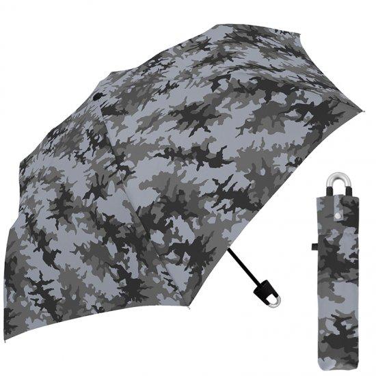折りたたみ傘 かわいい子供用 男の子 軽量 キッズカラナビ付き手元 迷彩 子供用記念品 クラックス