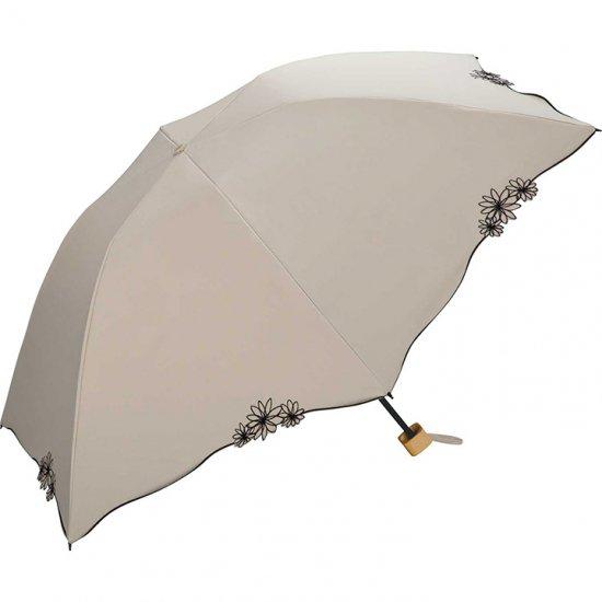 Wpc 日傘 遮光遮熱傘 折りたたみ傘 晴雨兼用傘 遮光バードケージ リムフラワー mini w.p.c ワールドパーティー