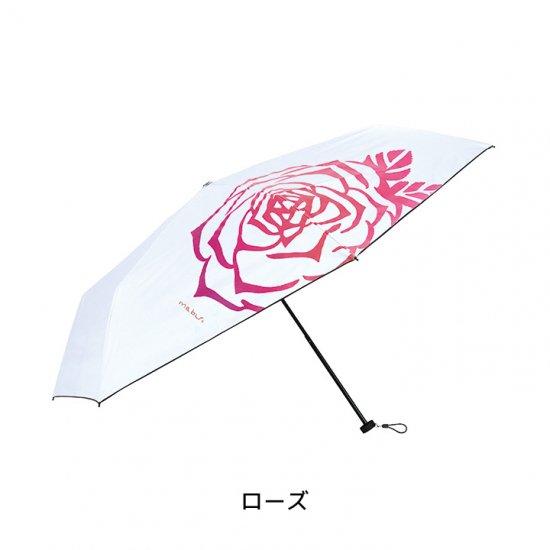 【mabu】 晴雨兼用折り畳み傘99.9% 遮光遮熱 裏ブラック