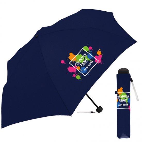 折りたたみ傘 かわいい子供用 女の子 男の子 軽量 カラフルペイント 子供用記念品 クラックス