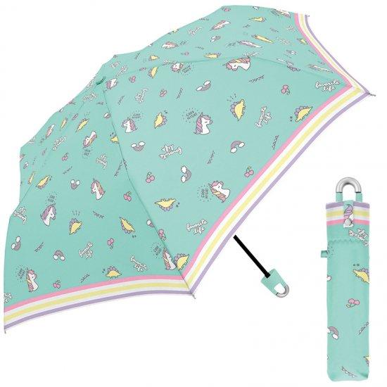 折りたたみ傘 かわいい子供用 軽量 キッズカラナビ付き手元 フェイバリットライフ 子供用記念品 クラックス