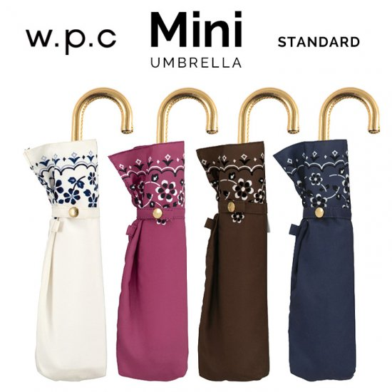 Wpc 折りたたみ傘 フラワーバンダナmini w.p.c ワールドパーティー