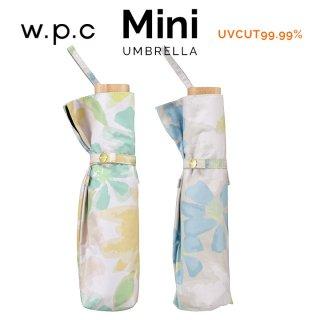 Wpc 日傘 遮光遮熱傘 折りたたみ傘 晴雨兼用傘 遮光ブルーミングmini w.p.c ワールドパーティー