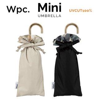Wpc 日傘 遮光遮熱傘 折りたたみ傘 晴雨兼用傘 遮光バイアスチェックフリルmini w.p.c ワールドパーティー