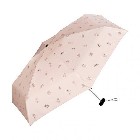Wpc 日傘 遮光遮熱傘 折りたたみ傘 晴雨兼用傘 遮光スケッチフラワーmini w.p.c ワールドパーティー