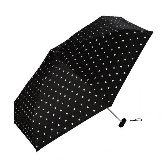 Wpc 日傘 遮光遮熱傘 折りたたみ傘 晴雨兼用傘 遮光ゴールドビーズハートmini w.p.c ワールドパーティー