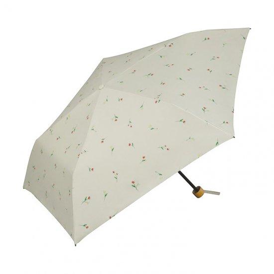 Wpc 日傘 遮光遮熱傘 折りたたみ傘 晴雨兼用傘 遮光軽量フラッフィーフラワーmini w.p.c ワールドパーティー