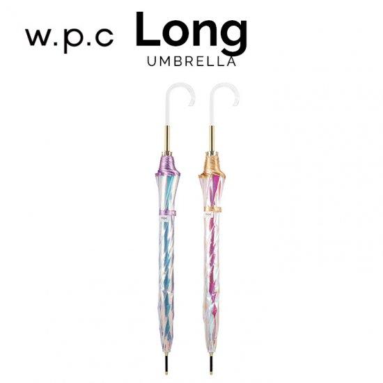 【Wpc】長傘 プラスティック アンブレラ オーロラ
