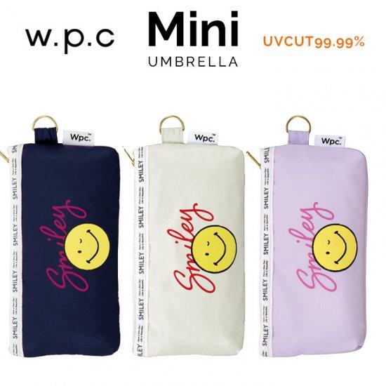 Wpc 日傘 折りたたみ傘 遮光スマイリーウィンク mini w.p.c ワールドパーティー
