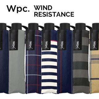 Wpc 折りたたみ傘 耐風傘 ウインドレジスタンスアンブレラ w.p.c ワールドパーティー