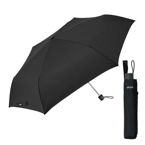 【waterfront】折りたたみ傘 大きい63cm ビックサイズ三折 ウォーターフロント シューズセレクション