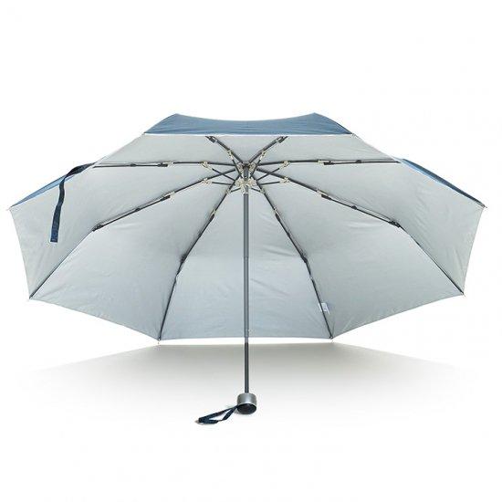 【waterfront】折りたたみ傘 大きい65cm 遮光遮熱傘 FRP骨の丈夫な傘 プレミアムストロングアーミー ウォーターフロント シューズセレクション